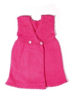 Pink #Cashmere Button Back #Baby #Dress