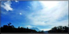 Wolken über dem Gaisberg