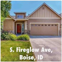 S. Fireglow Ave - Boise, ID - 83709 | Single-Family Home | 3 Bed | 2 Bath | 2004 sqft | Built 2006 | Listing price $214,500 | Qualify and Own this House w/  $12,800.00  towards your Closing Cost w/ our Assist Program, $7508/down  and  $1154/month | call/text  (973) 750-8236  | #ID @ http://on.fb.me/1vF7RGm  | Beautiful home, air conditioning, garbage disposal, heating natural gas