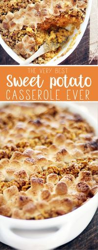 You are going to love our version of this time honored Southern dish. The Best Sweet Potato Casserole Ever.
