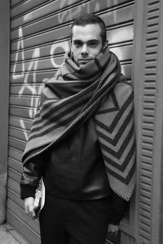 The super-stylish stylist Simone Monguzzi. A menswear fashion icon of mine. Loving the Vuitton.