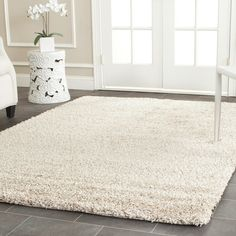 Found it at Joss & Main - Malibu Beige Solid Shag Area Rug