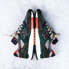 Real beauties! Great shot of the @jcrew x @newbalance M998JC4 Concrete Jungle! by @sneakersjeansts #sneakersmag #newbalance #nb998 #m998jc4 #sneaker