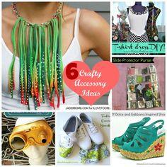 Six Crafty Accessory Ideas - DollarStoreCrafts.com