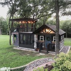 61 ideas garden ideas cottage tiny house for 2019 – Dream House Small Dream Homes, Tiny Cabins, Tiny Cottages, Log Cabins, Building For Kids, Building Plans, House Building, Tiny House Living, Tiny House Shed