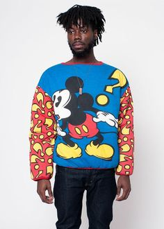 Vintage Disney Mickey Mouse Reversible Sweatshirt by rumors, $65.00 /// www.art-by-ken.com