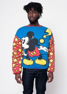 Vintage Disney Mickey Mouse Reversible Sweatshirt by rumors, $65.00 /// www.art-by-ken.com
