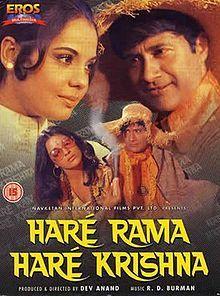 Hare Rama Hare Krishna Hindi in HD - Einthusan Hindi Bollywood Movies, Bollywood Posters, Bollywood Movie Reviews, Bollywood Actors, Cult Movies, Drama Movies, Films, Drama Film, Hare Rama Hare Krishna