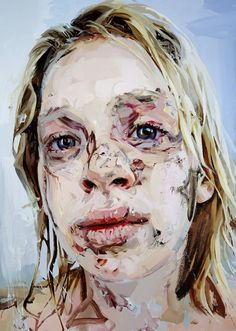 View Bleach by Jenny Saville on artnet. Browse more artworks Jenny Saville from New York Academy of Art. Jenny Saville Paintings, A Level Art, Gcse Art, Human Condition, Portrait Art, Painting Portraits, Abstract Portrait, Figure Painting, Oeuvre D'art