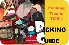 Use TMR's Packing List for Your Next Trip
