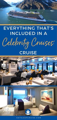 What is Included in a Celebrity Cruise? | We detail everything that is included in a Celebrity Cruises' vacation to show you why a cruise is the best option for your travel dollars. No matter the ship you board - Equinox, Summit, Solstice, Infinity, etc. - these tips apply. Whether you are planning a cruise for spring break or the holidays or just a fun getaway, check out what Celebrity has to offer! #cruise #cruisetips #CelebrityCruises #cruisevacation #EatSleepCruise