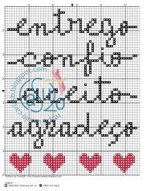 CaSuLo by CarlaSB: Enerxía (6/6) Letter Beads, Red Christmas, Cross Stitch Embroidery, Pixel Art, Bullet Journal, Dina, Pattern, Karma, Blackwork Cross Stitch