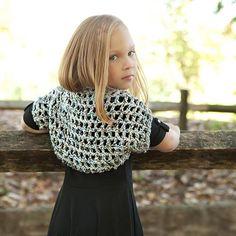 Crochet Patterns Galore - City Chic Shrug