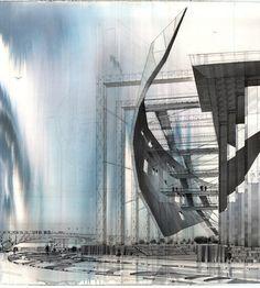 atmospheric rendering. artists unknown