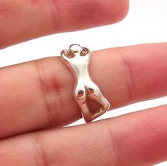 Naked darn ring