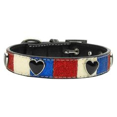 Mirage Pet Products Patriotic Ice Cream Hearts Dog Collars -- Discover this special dog product, click the image : Collars for dogs