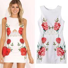 Vestido Bodycon rendas Chiffon verão, mulheres brancas vestidos florais flor impresso roupas Roupa Veste Topshop Tocas Feminina