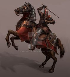 Ok a quick post this is the horseman updated with way better proportions Man At Arms UPDATED SRSLY Fantasy Wizard, Fantasy Armor, Fantasy Weapons, Dark Fantasy, Medieval Knight, Medieval Fantasy, Armor Concept, Concept Art, Dcc Rpg