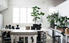 Carina Seth Andersson studio styled by Lotta Agaton | Ollie & Sebs Haus