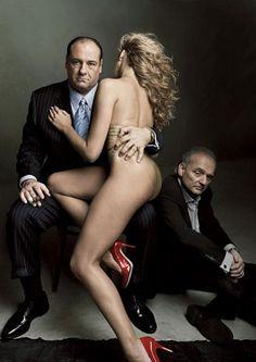 """""""Sopranos"""" by Annie Leibovitz"""