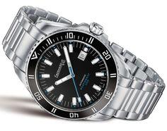 Eberhard Scafograf 300 - Новая версия дайверских часов Эберхард   Luxurious Watches