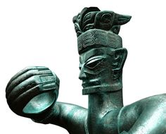 The Mysterious Ancient Artefacts of Sanxingdui - winged headdress