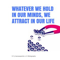 Note with content: Law Of Attraction