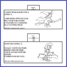 ALFABETIZAÇÃO CEFAPRO DE PONTES E LACERDA : Alfabeto com Versos