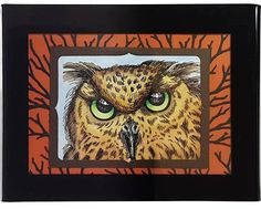Stampendous Cling Stamp LOOK INTO MY EYES Rubber UM CRR268 Preview Image