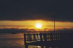 Nascer do sol no Guaíba