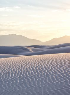the white sand dunes of New Mexico's White Sands National Monument. Come explore the United States' most incredible sand dunes!