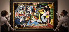 Picasso'nun Bu Tablosunu Halk Göremeyecek   724 KÜLTÜR SANAT  http://724kultursanat.com/picasso-cezayirli-kadinlar/