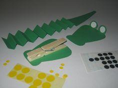 Krokodil #klemeenkleinetraktatie #bek