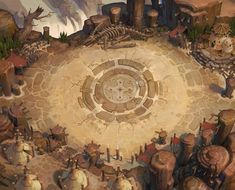 ArtStation - Throne and Thorns concept works, Ast Ralf