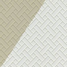 Blue Mountain Wallcoverings Lw1343509 Prepasted 20 5 In Textured Mosaic Paintable Wallpaper At Lowe S Canada