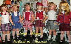 Lana Araújo Vestindo as bonecas: Bonecas Antigas  Estrela Atma e Trol anos 60 70
