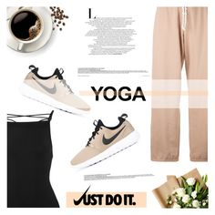 """Namaste: What to Wear to Yoga"" by antemore-765 ❤ liked on Polyvore featuring Zimmermann, Puma and NIKE"