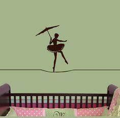 Ballerina Circus tight rope walker