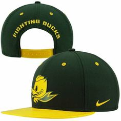 Nike Oregon Ducks Civil War True Snapback Hat - Green
