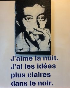 Serge Gainsbourg, Charlotte Gainsbourg, Jolie Phrase, Sweet Words, Vintage Photos, Illusions, Inspirational Quotes, Phrases, Messages