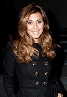 Jamie-Lynn Siglers wavy, brunette hairstyle...maybe I'll go this dark