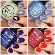 MidWest Lacquer & Top Shelf Lacquer Collaboration Holiday Collection Swatches & Review