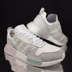 5f5b02715d adidas Mens Boost Running Trainers White sz 8 Rising Star Sneakers EU 42 US  8.5   eBay