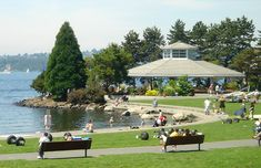Marina Park, which is in downtown Kirkland, WA is absolutely a beautiful park.  Kirkland is a bedroom community to Seattle and they're very big on parks. Can also see Mt Rainier, Seattle and Bellevue from here.