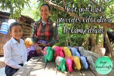 A family of elephants, each one supporting education projects in Cambodia.