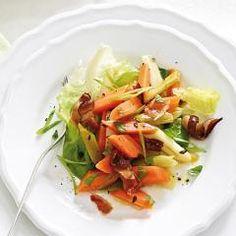 Kopfsalat mit marinierten Möhren und 87.000 weitere Rezepte entdecken auf DasKochrezept.de
