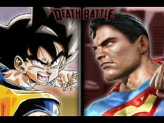 DEATH BATTLE! - Goku VS Superman