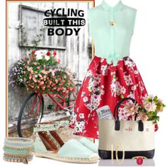 Bicycling Beauty