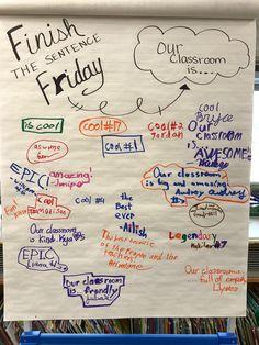 Future Classroom, School Classroom, Classroom Activities, School Fun, Daily Writing Prompts, Picture Writing Prompts, 6th Grade Ela, Third Grade, Class Meetings