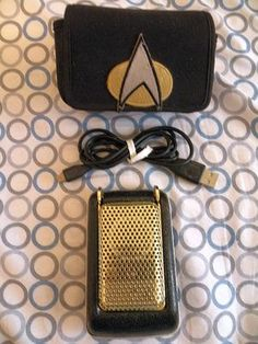 Unique high tech components make the Star Trek Bluetooth Communicator a must have for any sci fi fan. Will pair with any phone, voice calling and comes with USB charging cable/Instructions.
